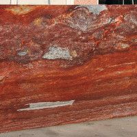 Kyanite Red And Blue - lastra